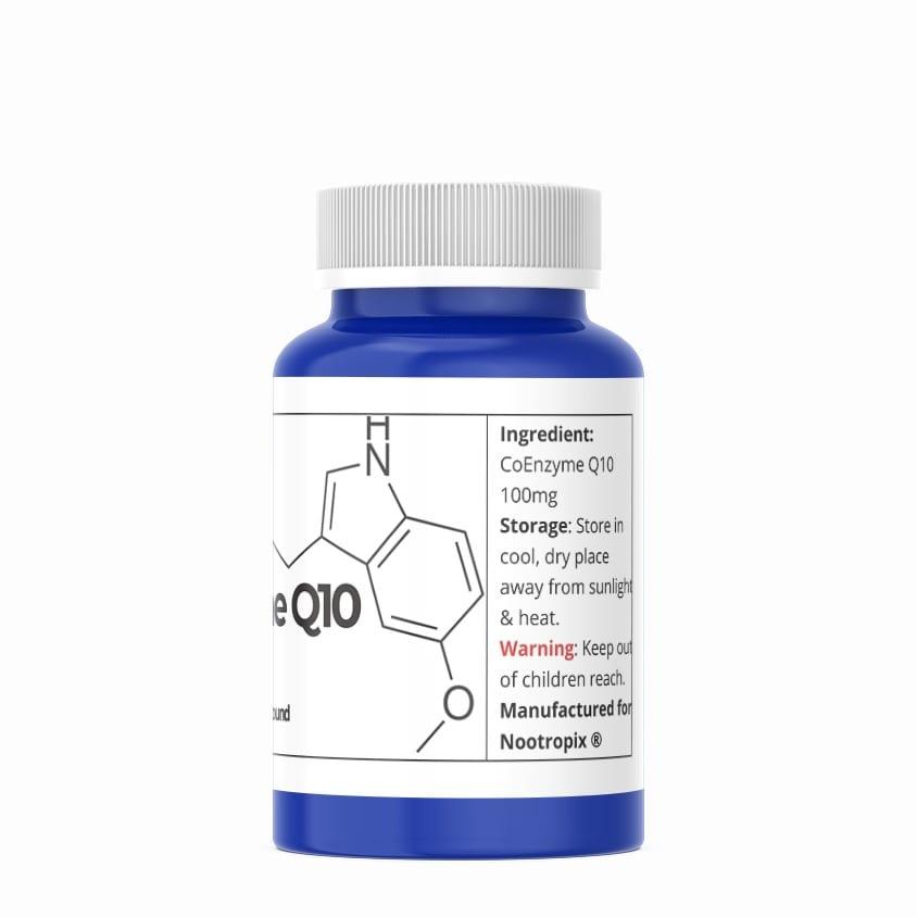 coenzyme q10 coq10 100mg softgels nootropics uae rear