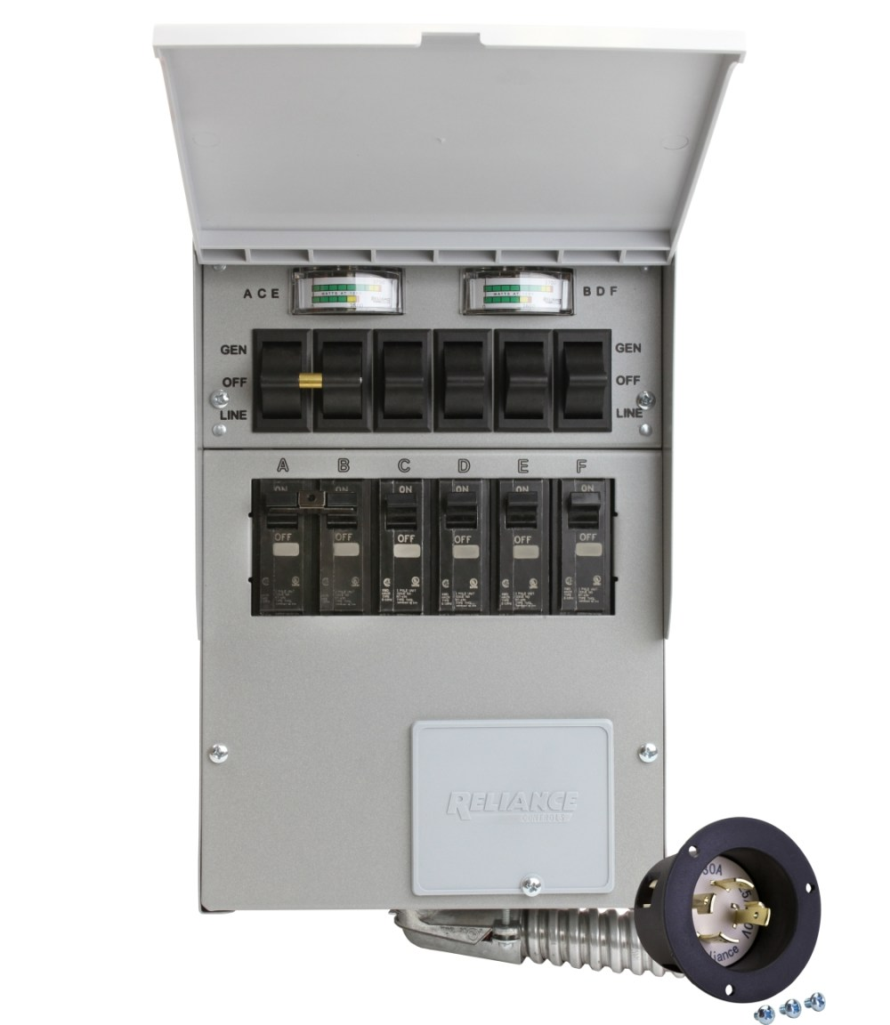 medium resolution of 30 amp portable generator wiring diagram portable reliance transfer switch 10 circuit reliance controls transfer switch