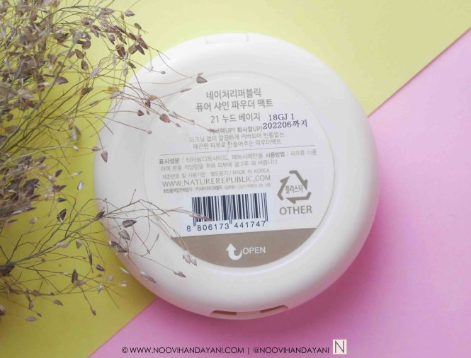NATURE REPUBLIC POWDER 7