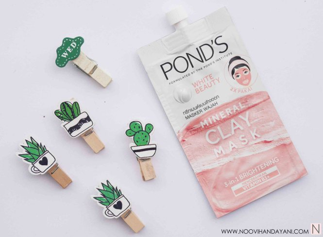 Pond's Mineral Clay Mask Brightening 9