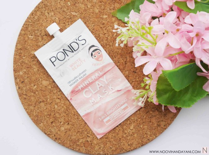 Pond's Mineral Clay Mask Brightening