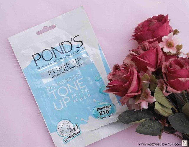 Pond's Instabright Tone Up Milk Mask