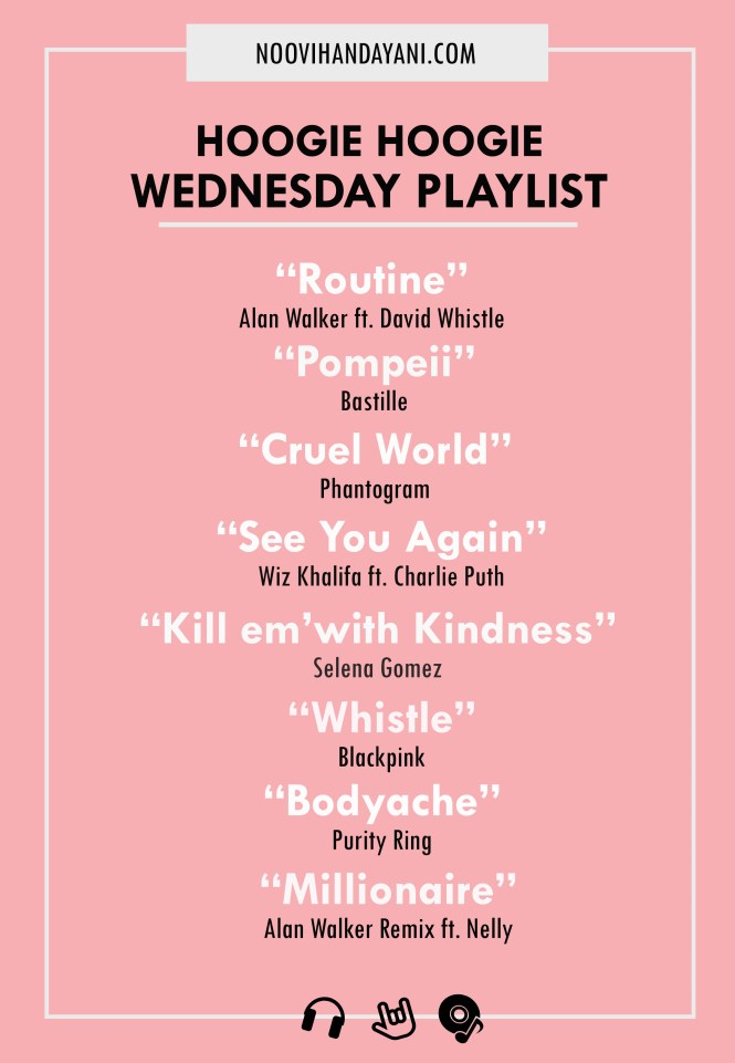 Wednesday playlist