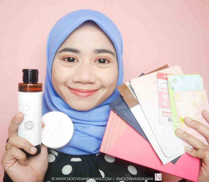 Belanja Produk Korea di Lyne Cosmetics a