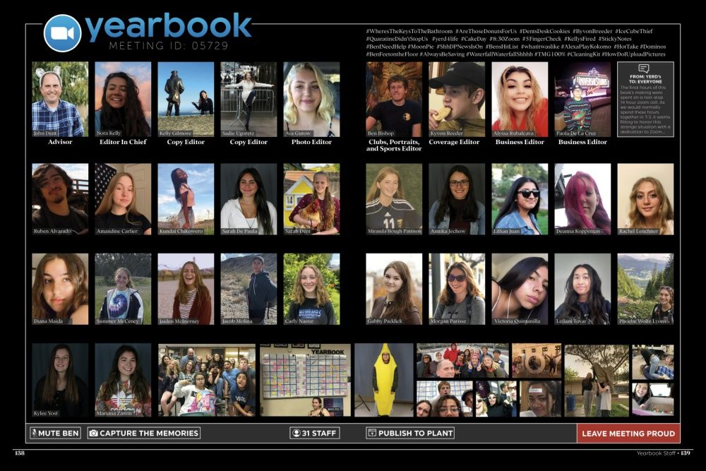 Dos Pueblos High School Students Document Stories For Yearbook Amid Coronavirus Coronavirus Crisis Noozhawk Com