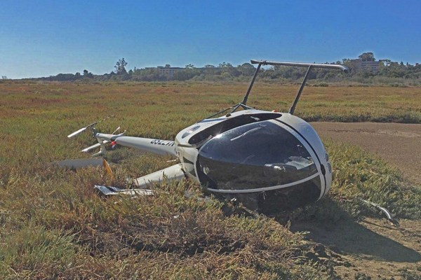 Helicopter Crash - Year of Clean Water