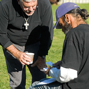 homeless ministry, feeding the poor