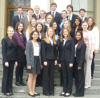 Dos Pueblos High School's mock trial team finished eighth in the state finals.