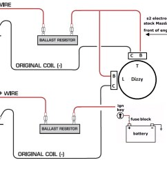 wiring diagram for ignition coil data schematic diagram chevy 350 ballast resistor wiring diagram [ 1099 x 791 Pixel ]