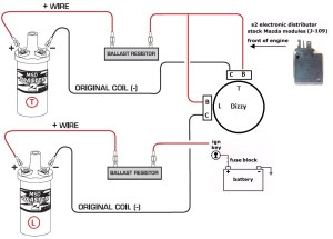 MSD Blaster 2 Coil wiring diagram needed  NoPistons