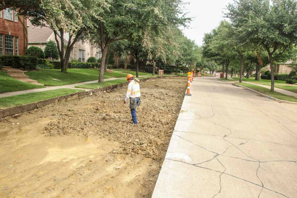 Concrete street construction Pavment Services