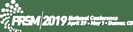 PSRM 2019 National Conference Logo!