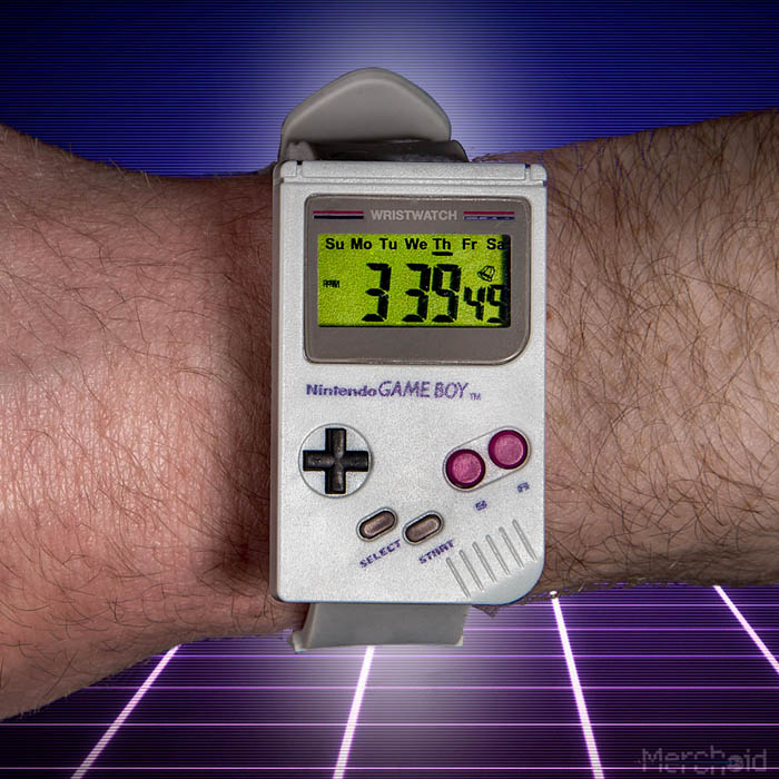 reloj game boy 2 - Electrogeek