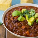 Vegan Sweet Potato and Black Bean Chili