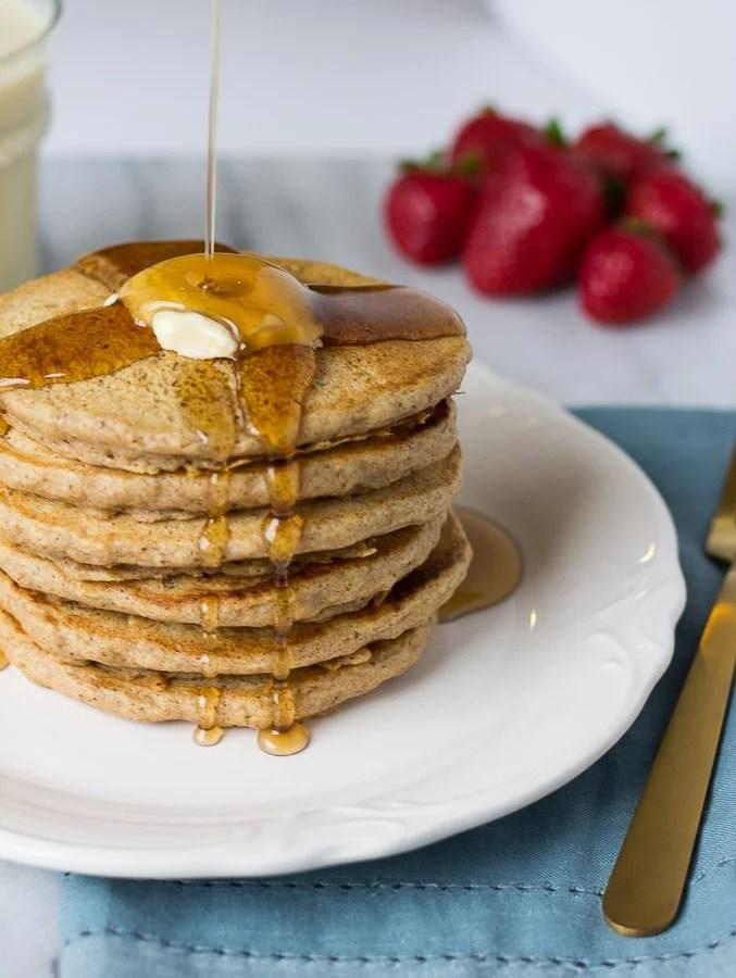 Freezer Whole Grain Pancakes