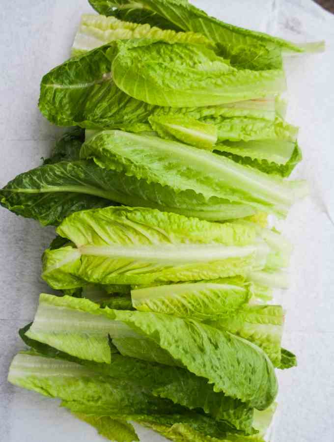 How to Prep Romaine Lettuce to Last All Week
