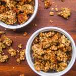 Best Ever Oil-Free Vegan Nut Granola