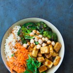 Peanut Buddha Bowl with Roasted Broccoli