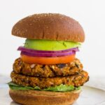 Easy Sweet Potato Black Bean Burgers