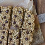 Peanut Butter Oat Snack Bars