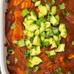 Roasted Vegetable Enchilada Casserole