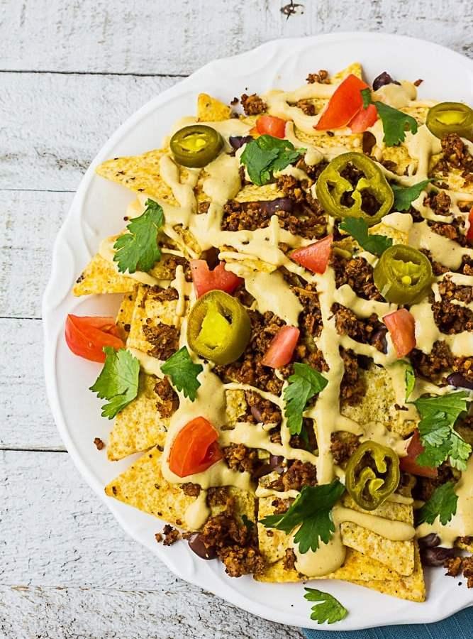 Ultimate Fully Loaded Vegan Nachos