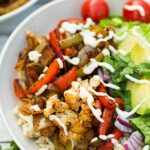 Cauliflower Fajita Mexican Bowl