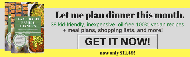 ebook ad plant based family dinners