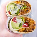 Instant Pot Vegan Burritos