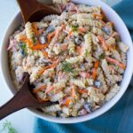 Bacon Ranch Vegan Pasta Salad