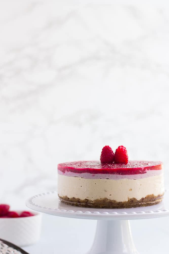 whole no-bake vegan cheesecake