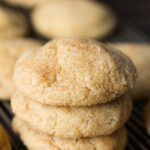 Vegan Snickerdoodles – Soft, Thick & Puffy