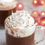 5 Minute Vegan Hot Chocolate