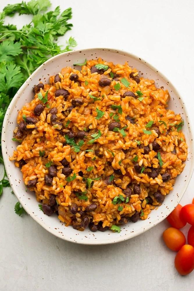 Roasted Veggie & Spanish Rice