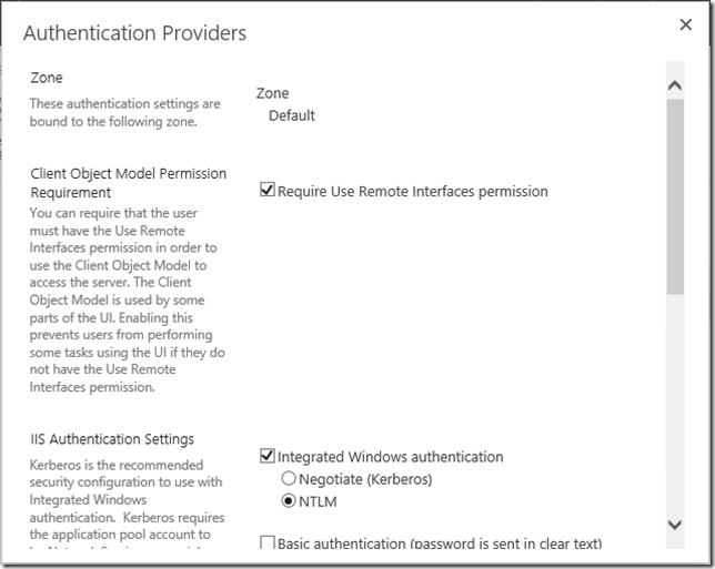 Authentication Providers3