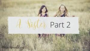 A sister title pt 2