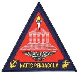 Navy NATTC Pensacola Triangle Patch  North Bay Listings