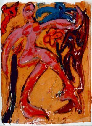 97, Dans, 1997, 68 x 83, 400,-