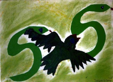 379 Dierkleuren 1 2005, 38 x 48, gemengd, verkocht