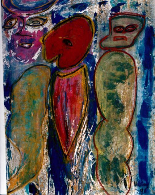 59 Het Kind, 1996, 68 x 53, 300,-