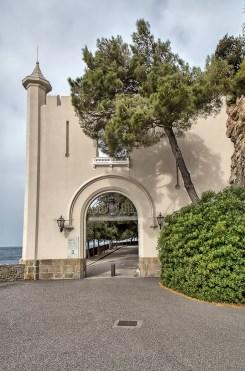Zugang Schloss Miramare