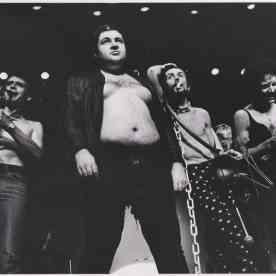 Norbert Letheule avec la compagnie Lubat - 1976