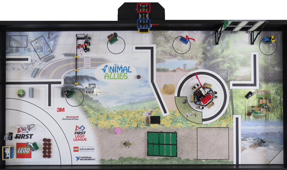 2016 Animal Allies Challenge Kit Used Norcalfll