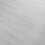 warm brushed aluminum surfaces