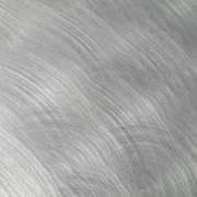 directional brushed aluminum