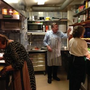 Mer arbete i köket
