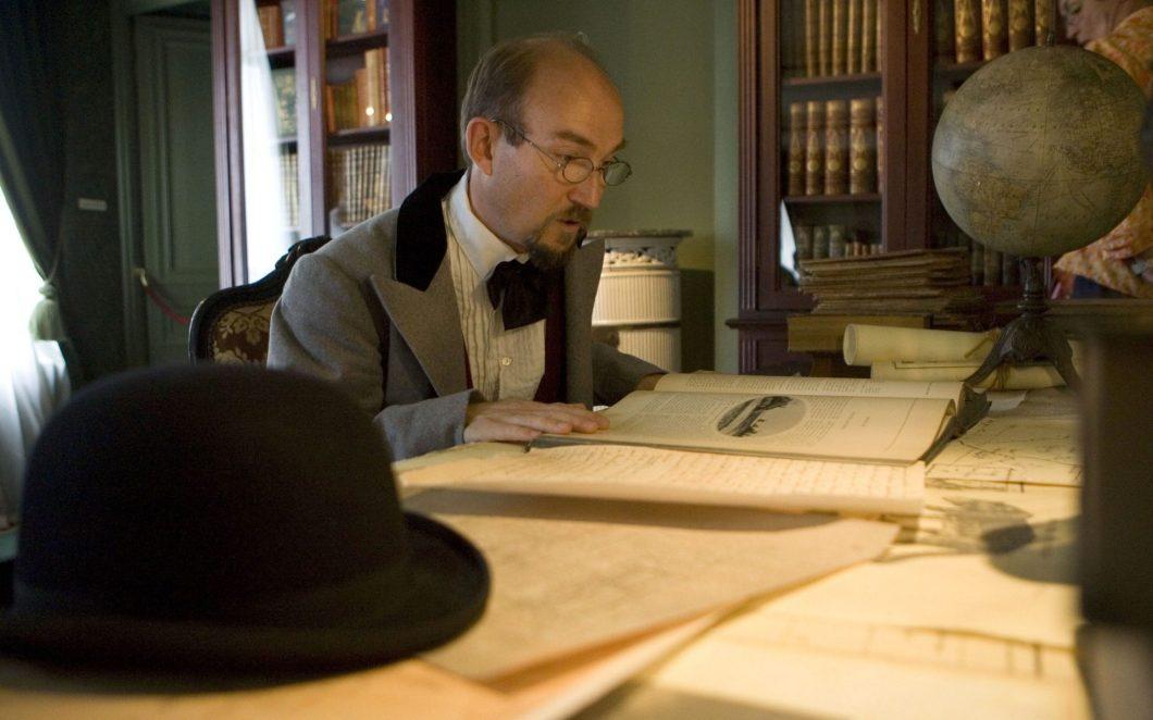 Das Leben des Schriftstellers Jules Verne in Amiens