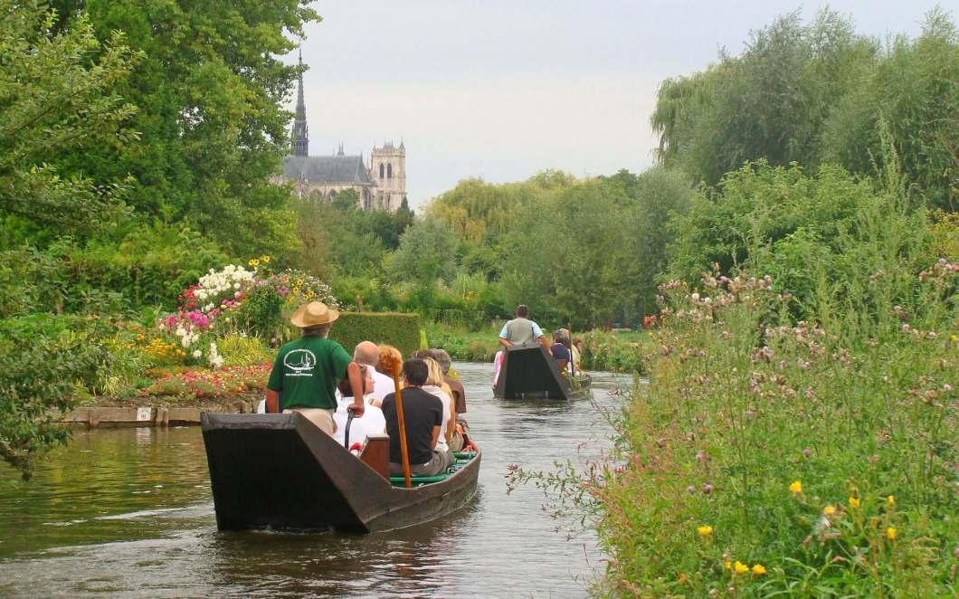 Gartenparadies Nordfrankreich: die Kanal-Gärten von Amiens