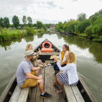 Aperitif auf dem Wasser, © Philippe Hudelle SPL Tourisme
