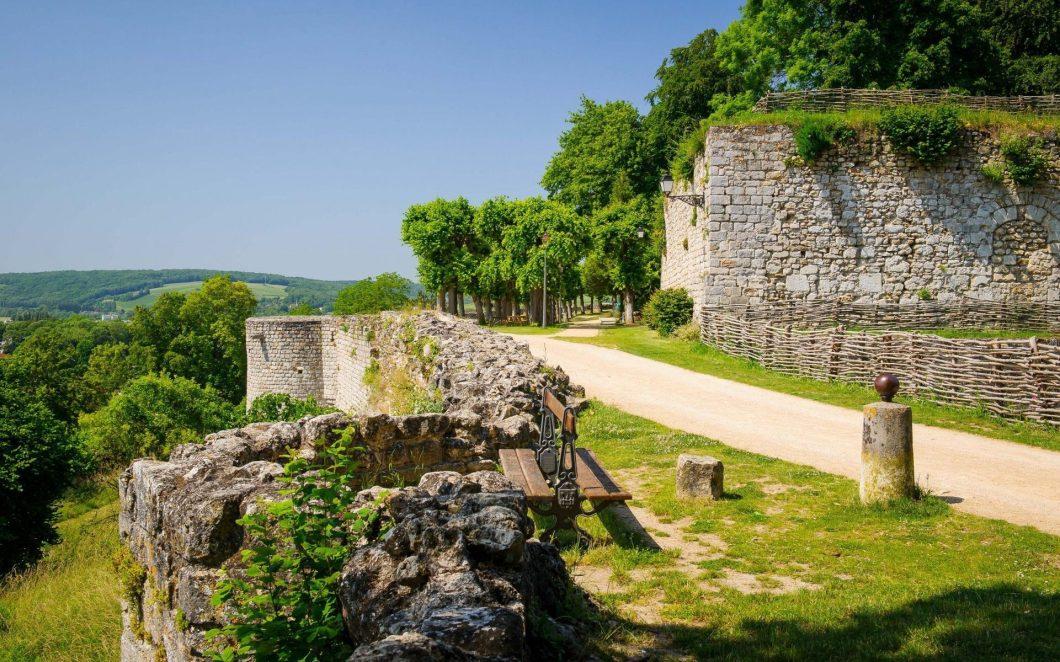 Château-Thierry und der Dichter La Fontaine